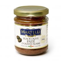 Martelli Black Olive Pate 212mL (MAR0121)