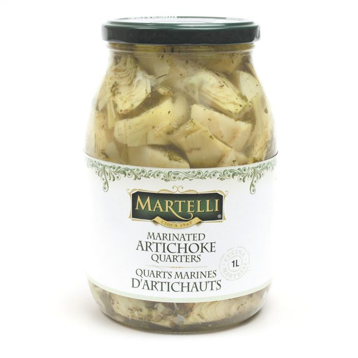Martelli Marinated Artichoke Quarters 1L (MAR0234)