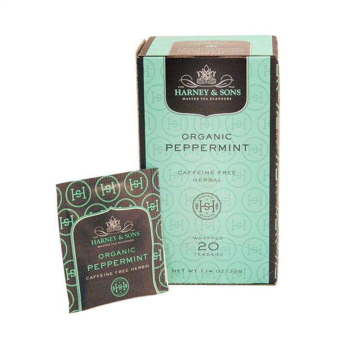 Harney Organic Peppermint 20ct