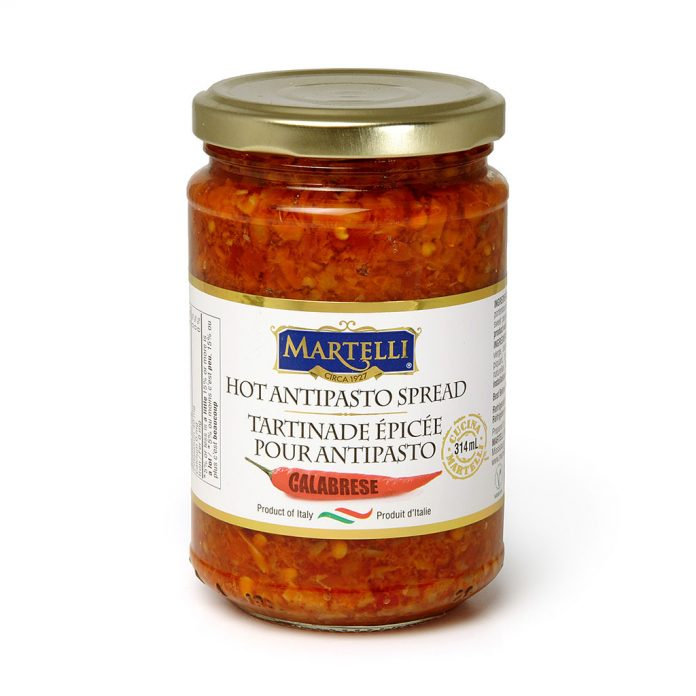 Martelli Hot Antipasto Calabrese 314mL MAR0128