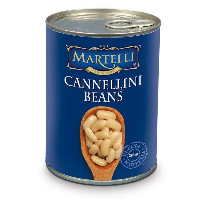Martelli New Cannellini Beans 398mL MAR0281