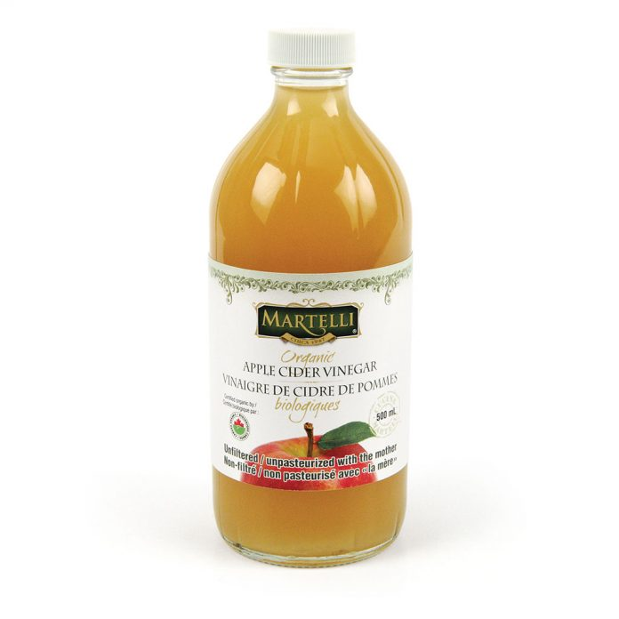 Martelli 500mL Organic Apple Cider Vinegar