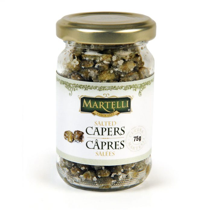 Martelli Salted Capers 105mL