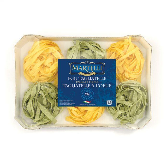 Martelli Egg Tagliatelle Paglia e Fieno 250g (MAR0313)