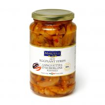 Martelli Hot Eggplant Strips 500mL (MAR0241)