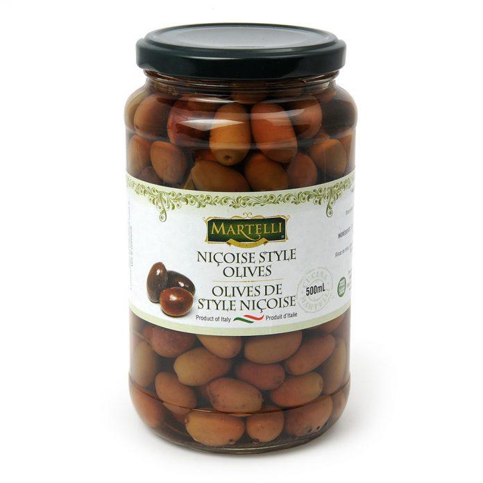 Martelli Nicoise Style Olive 500mL (MAR0262))