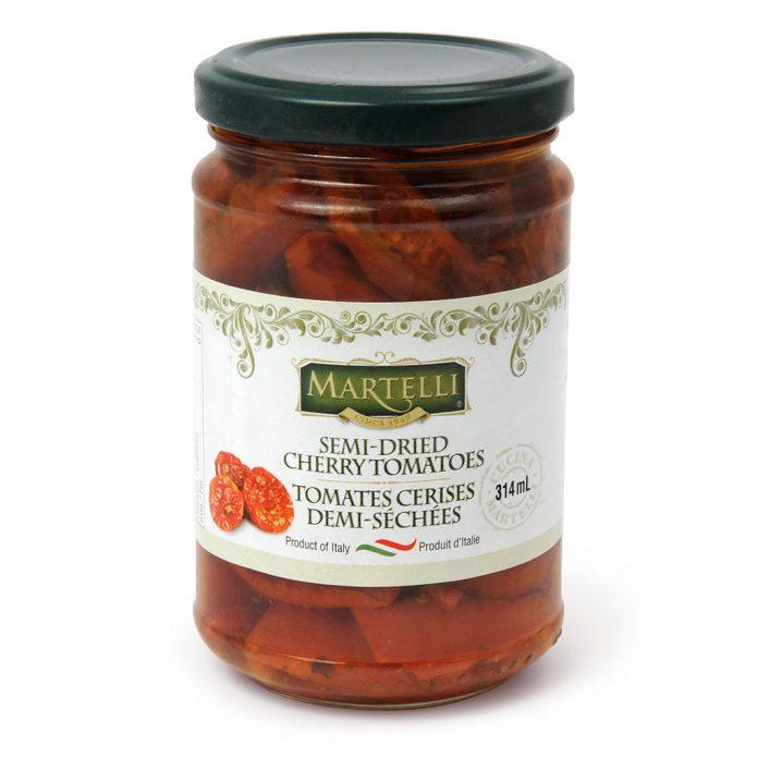 Martelli Semi-Dried Cherry Tomatoes in Oil 314mL (MAR0142))