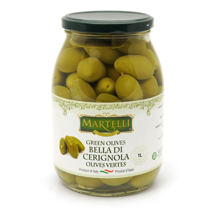 Martelli Bella di Cerignola Olives