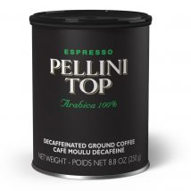 Pellini Top 100% Arabica Tin Decaf ground