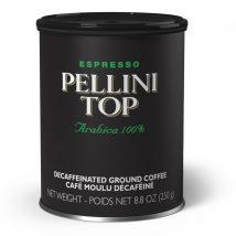 Pellini Top 100% Arabica Tin Decaf ground