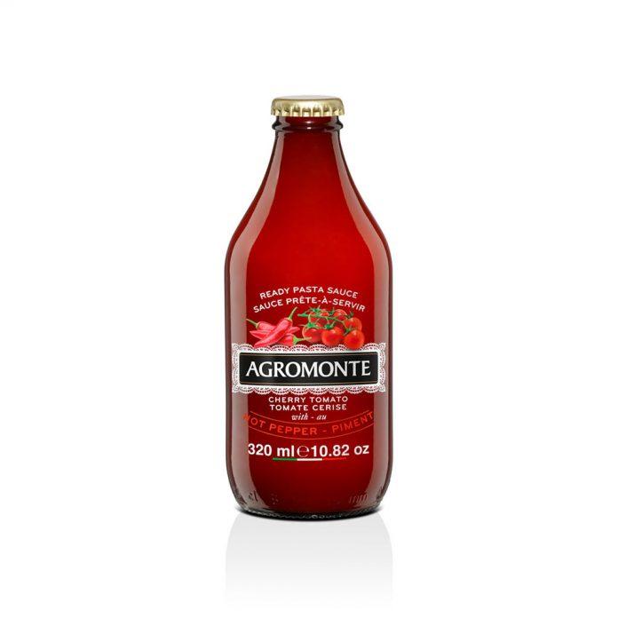 Agromonte Cherry Tomato Sauce Hot Pepper (AGR6076)