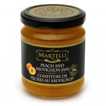Martelli Peach and Sauvignon Jam 240g
