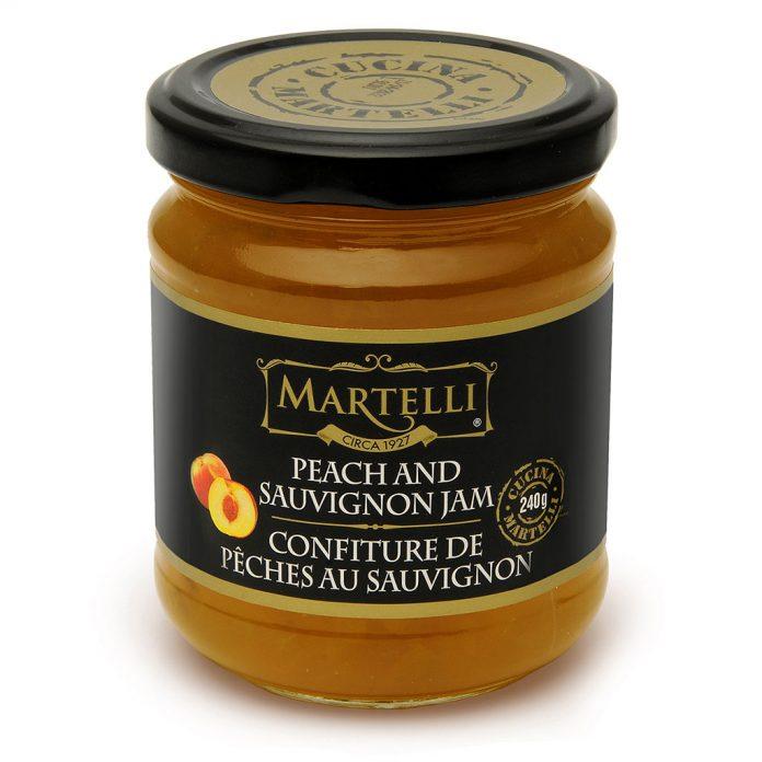 Martelli Peach and Sauvignon Jam 240g