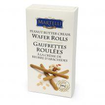Martelli Peanut Butter Cream Wafer Rolls 225g