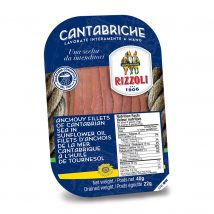 Rizzoli Anchioves in Sunflower Oil tray 40g RIZ81257
