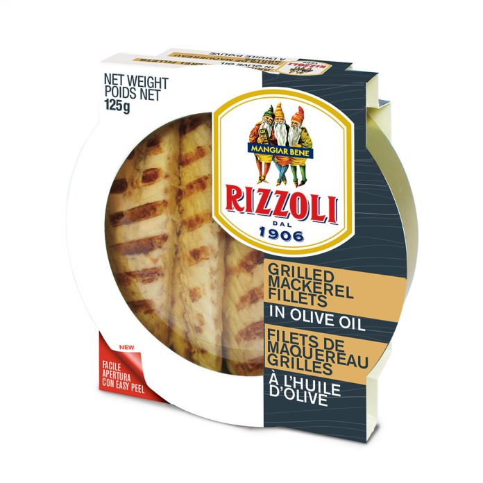 Rizzoli Grilled Mackerel Fillets in Olive Oil RIZ81356