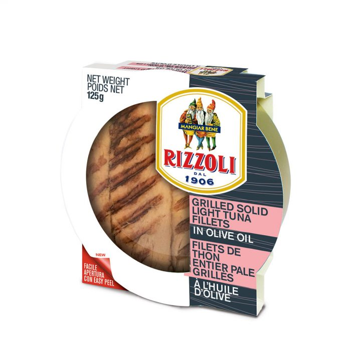 Rizzoli Grilled Tuna Fillets in Olive Oil 125g RIZ81482