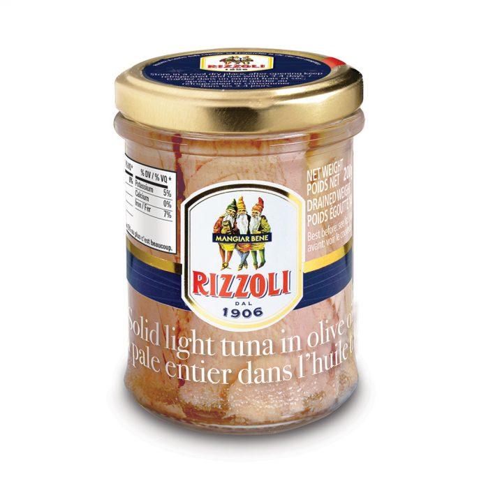 Rizzoli Tuna Fillets in Olive Oil RIZ81463